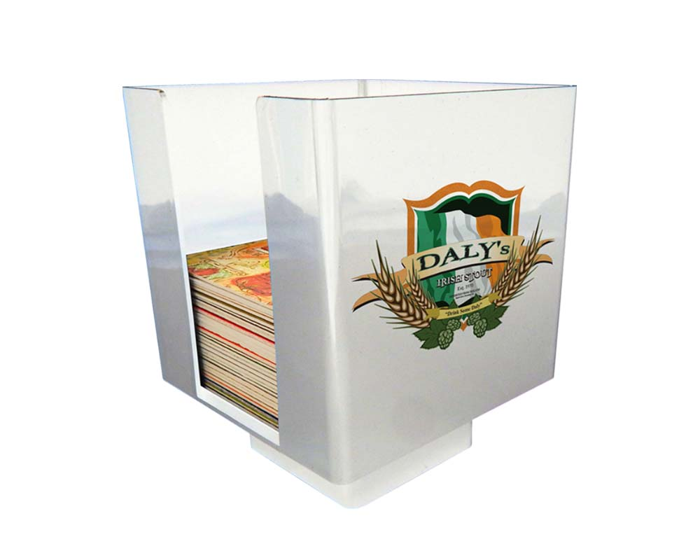 Coaster Caddy - White