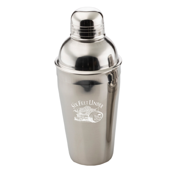 Stainless Steel Three-piece Shaker 16oz.